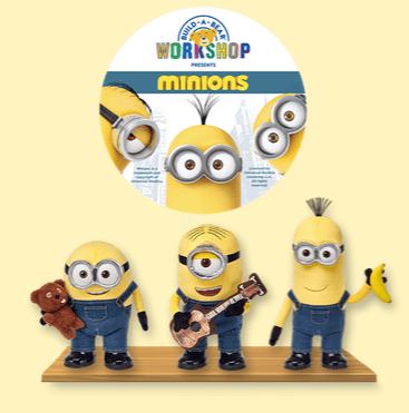 Minions at build a bear workshop