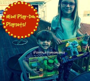 PLAY-DOH Smashdown Hulk & My Little Pony Rainbow Dash Style Salon