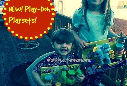 PLAY-DOH Smashdown Hulk & My Little Pony Rainbow Dash Style Salon