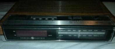 vintage alarm clock 90's