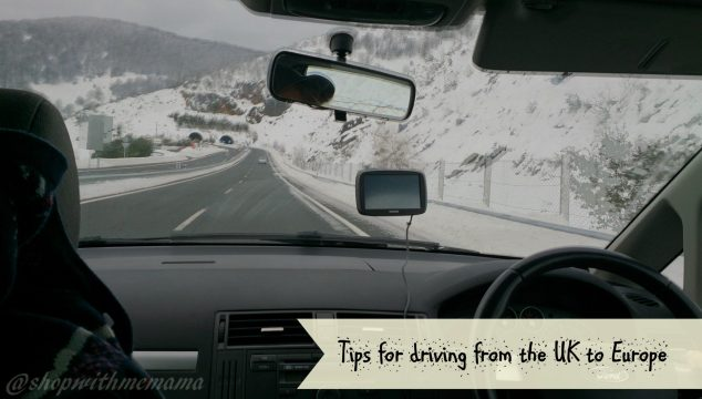 Tips for driving from the UK to Europe