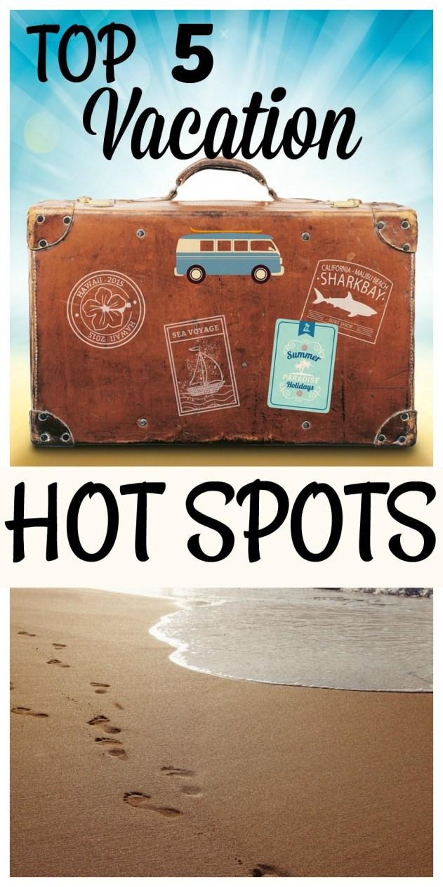 Top 5 Summer Holiday Spots