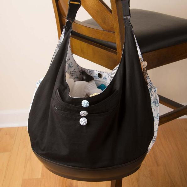 EquiptBaby's baby bassinet and diaper bag duo