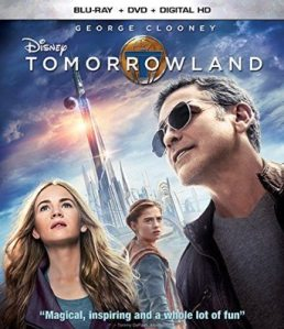 Tomorrowland on Blu-ray, Digital HD and DMA