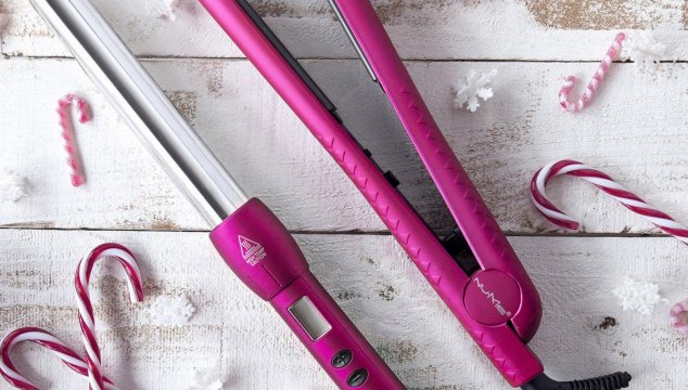 Ceramic Silhouette Straightener And Titanium Magic Wand by NuMe