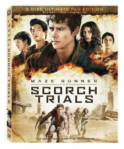 MAZE RUNNER: THE SCORCH TRIALS #ScorchInsiders #SurviveTheScorch