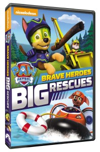 PAW Patrol: Brave Heroes, Big Rescues available on DVD March 1