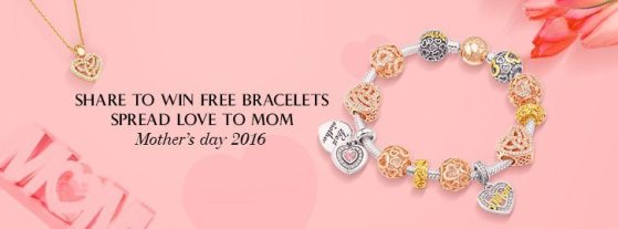 Win a Glamulet Bangle Bracelet for Mother's Day
