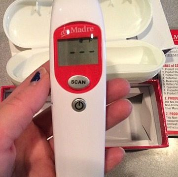 Dr. Madre Non-Contact Infrared Thermometer (Coupon Codes!)
