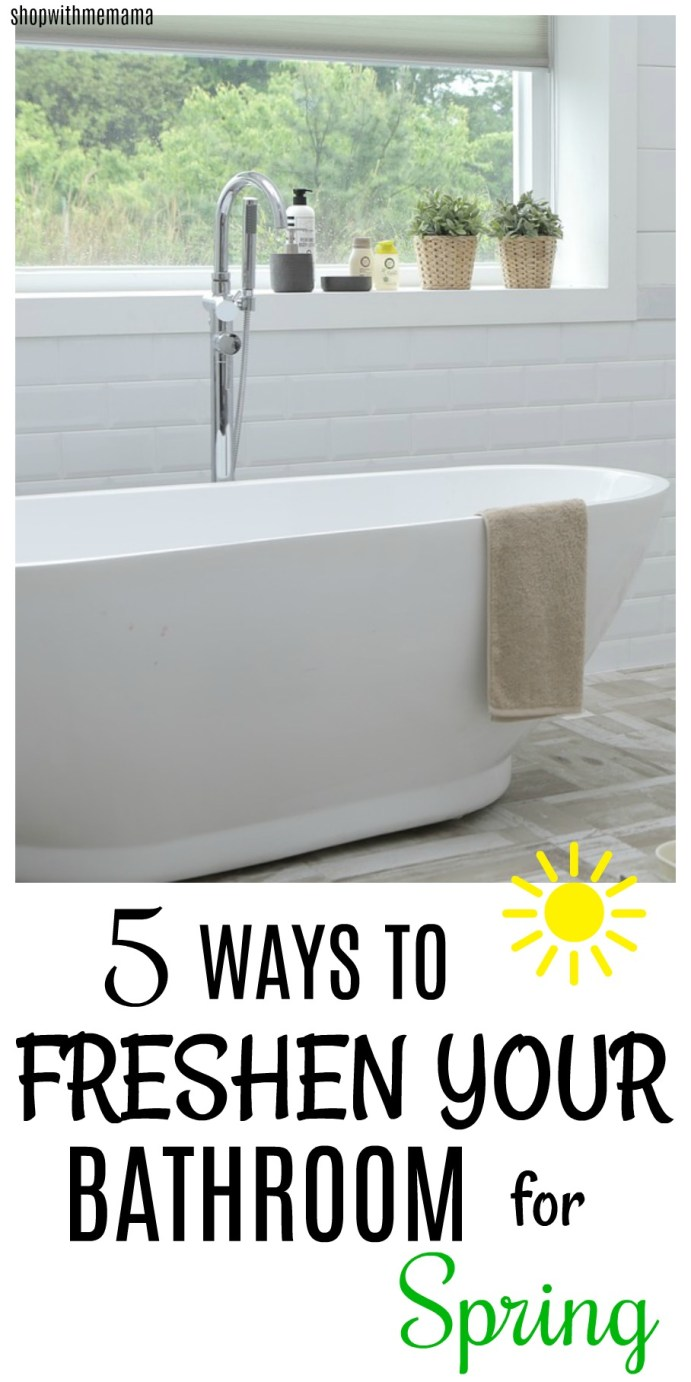 5 Ways To Freshen Your Bathroom For Spring
