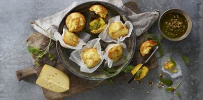 Jarlsberg Cheese Recipes Corn muffins for Mother's Day Recipes
