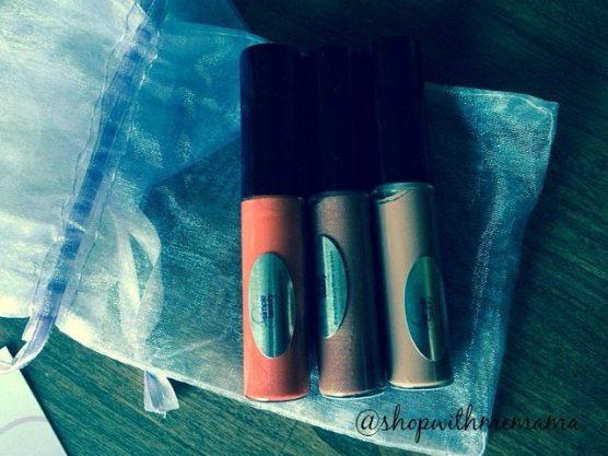 Sugar Gloss lip glosses