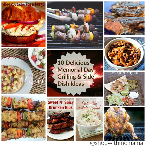10 delicious memorial day grilling side dish ideas for Side dish recipes for grilling out