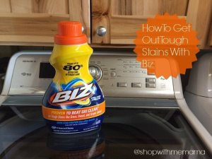 How To Get Out Tough Stains With Biz