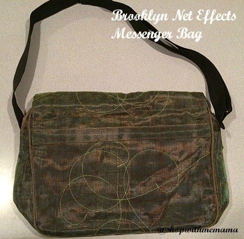 Brooklyn Net Effects Messenger Bag