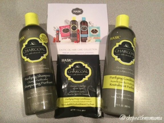 HASK Charcoal Purifying Hair Care Collection