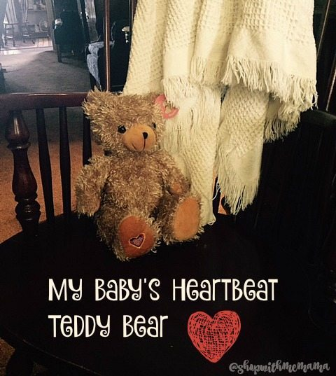 Unique Pregnancy And Baby Shower Gift My Baby's Heartbeat Teddy Bear
