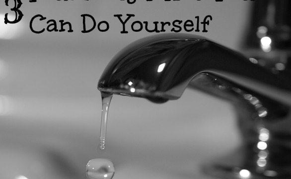 3 Plumbing Fixes You Can Do Yourself