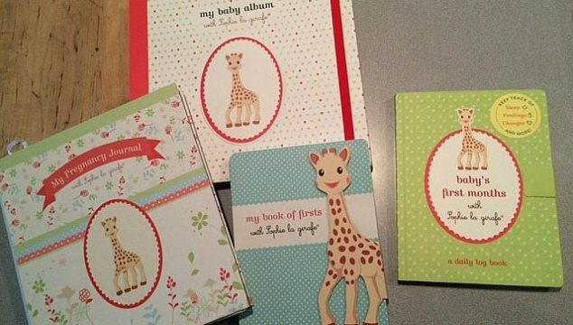 Sophie The Giraffe's New Baby Books Series Are Adorable!