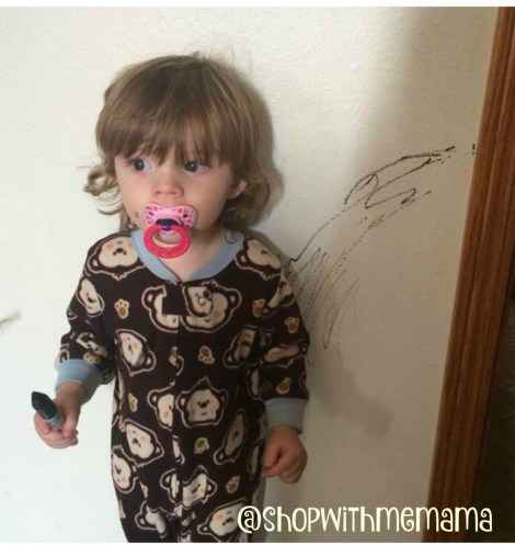 Toddler Drawing On Walls