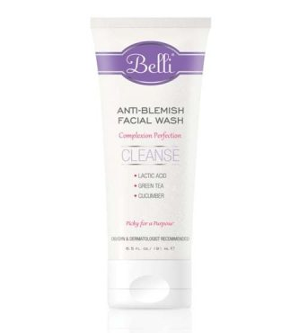 Safe Skin Care Ideal For Pregnant Women Anti-Blemish Facial Wash Belli Skincare