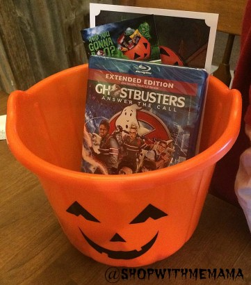 Pumpkin Halloween Candy bucket