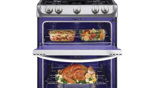 Prep For The Holidays With The LG ProBake Double Oven From Best Buy!