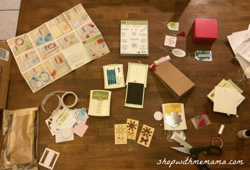 homemade gift tags kit