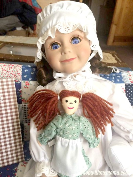 "Queen's Treasures® Little House on the Prairie 18"" Laura Ingalls Doll"