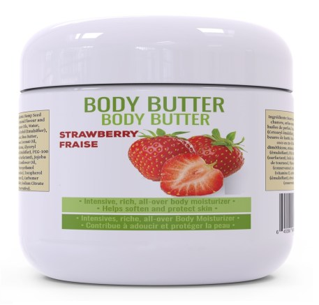 BODY BUTTER - STRAWBERRY 120G