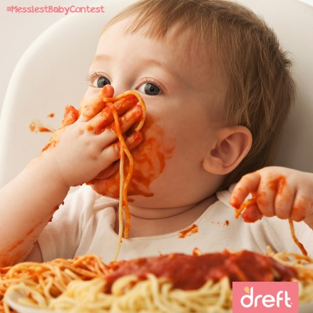 Dreft Messiest Baby Contest
