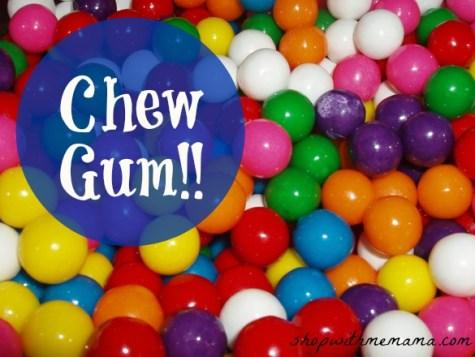 Chew Gum Gum Balls
