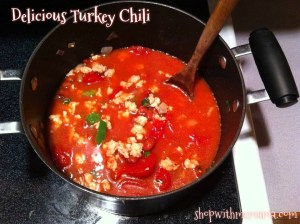 Delicious Turkey Chili Made From Jennie-O Turkey