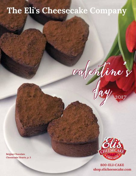 Eli's Cheesecake Valentine's Day Catalog