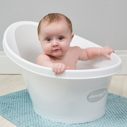Shnuggle Bath Makes Bathing Baby Easier And Safer