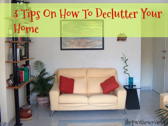 3 tips on how to declutter your home shop with me mama - How to declutter your bedroom fast ...
