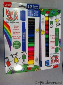 Kwik Stix Solid Tempera Paint Sticks That Kids Love!