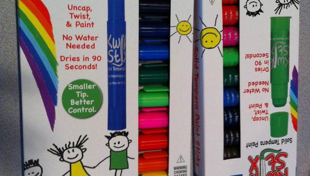 Kwik Stix Solid Tempera Paint Sticks That Kids Love!