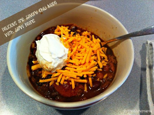 Delicious and Savory Chili