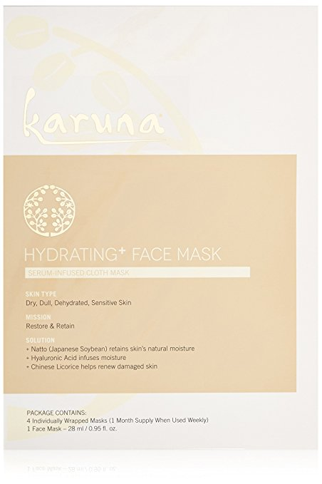 3 Reasons Why You Need To Try FabFitFun Seasonal Subscription Box Karuna Hydrating + Face Mask