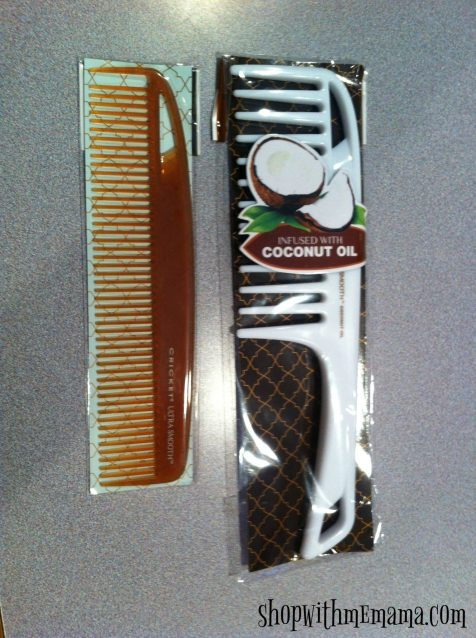 Get Salon Gorgeous Hair At Home! Coconut and keratin infused combs