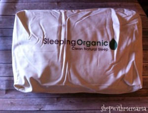 Sleeping Organic Natural Shredded Latex Pillow!