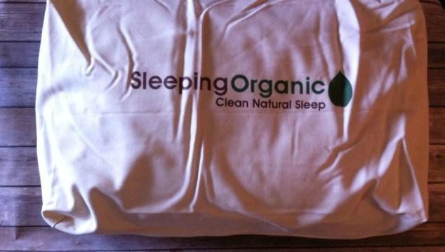 Sleeping Organic Natural Shredded Latex Pillow!