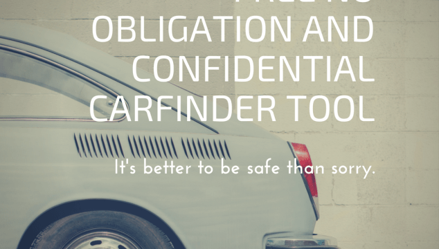 Free No Obligation And Confidential CarFinder Tool