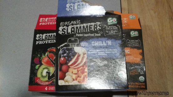 Organic Slammers Superfood Snack Pouches