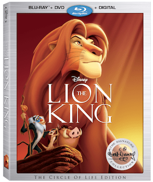 The Lion King Roars To Its Rightful Place In The Walt Disney Signature Collection On Blu-ray