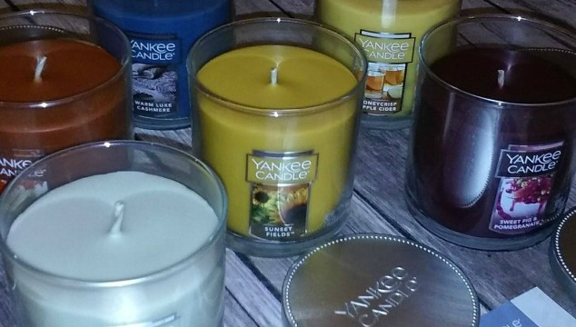 Yankee Candle New Fall Collection!