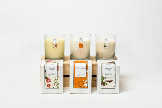 Light A Candle, Transform A Life With The Vanilla Honey Gift Set
