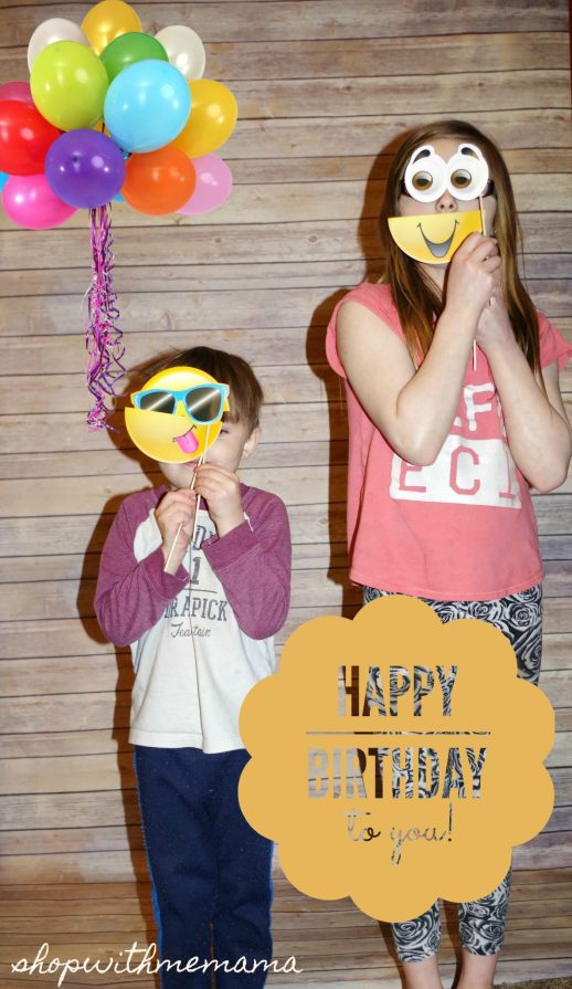 My Daughter Had An Emoji Birthday Party
