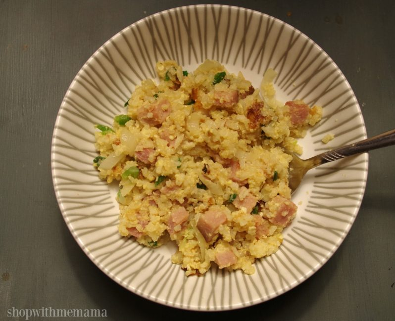 Nasi Goreng Indonesian Fried Rice with Ham